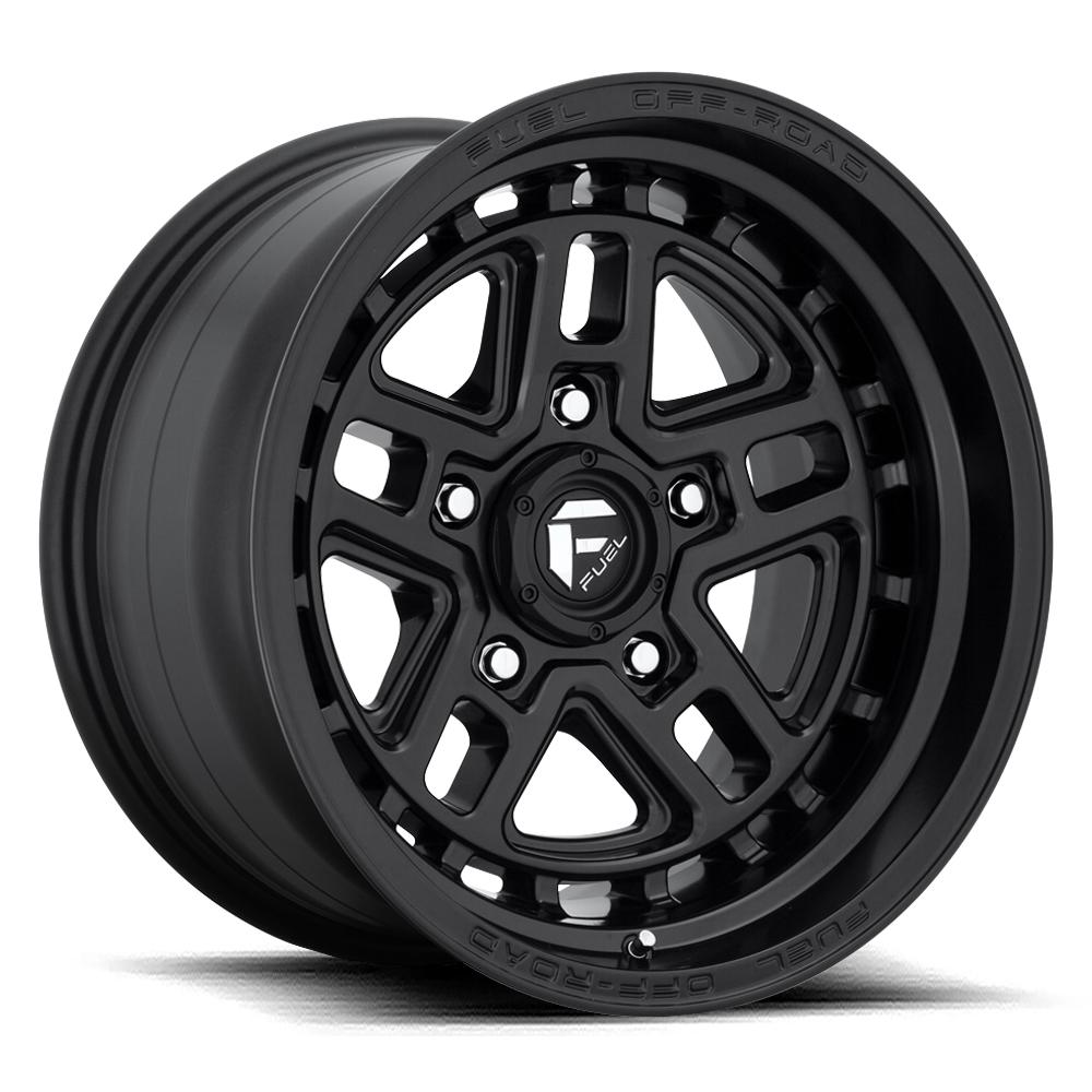 Fuel Wheels Nitro D667 - Matte Black