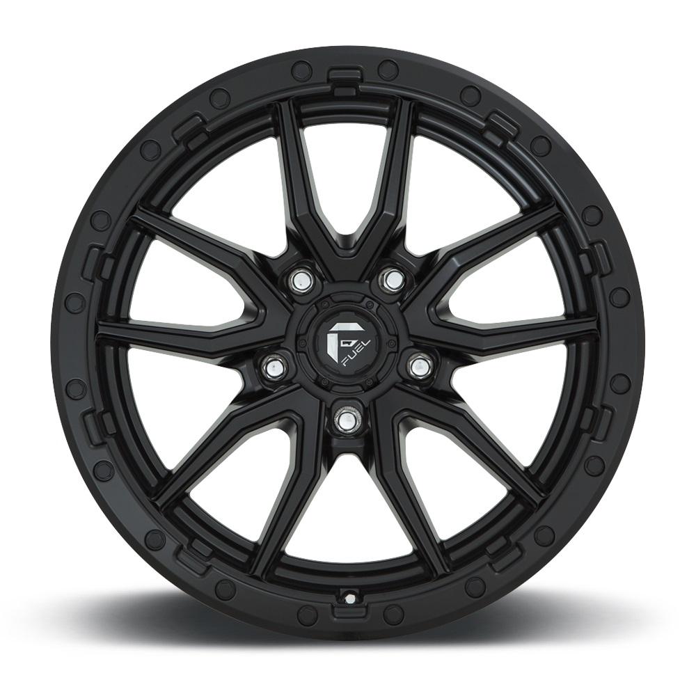 Fuel Wheels Rebel 5 D679 - Matte Black Rim