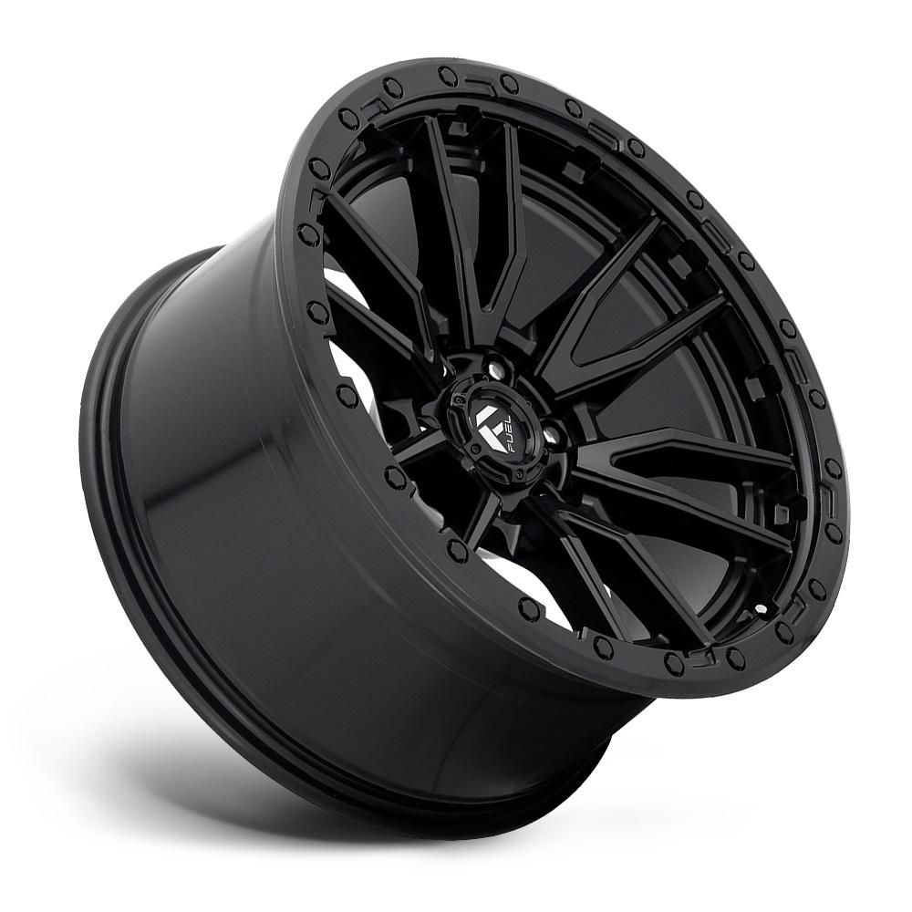 Fuel Wheels Rebel 6 D679 - Matte Black Rim
