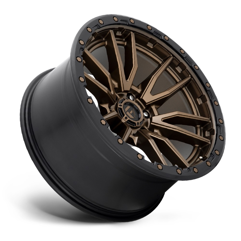Fuel Wheels Rebel 6 D681 - Matte Bronze Black Bead Ring Rim