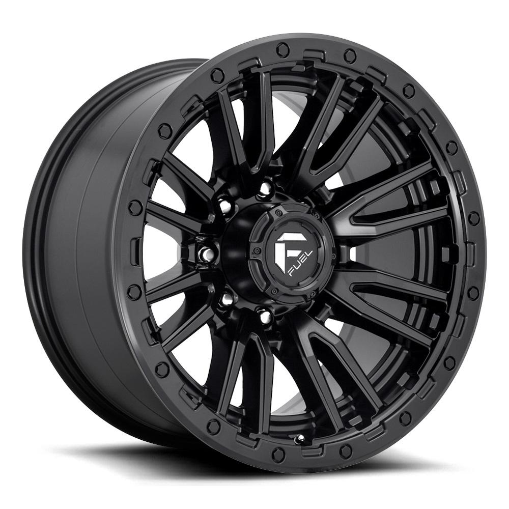 Fuel Wheels Rebel 8 D679 - Matte Black Rim