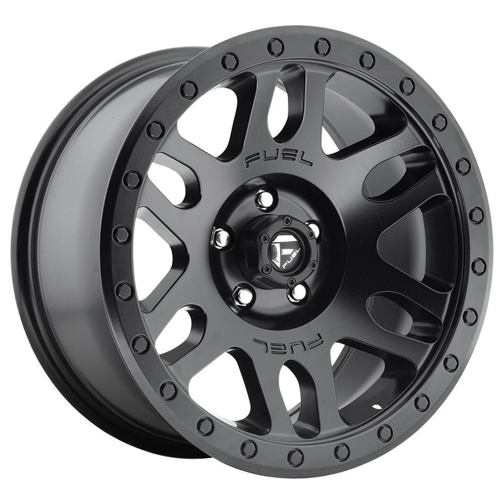 Fuel Wheels Recoil D584 - Matte Black