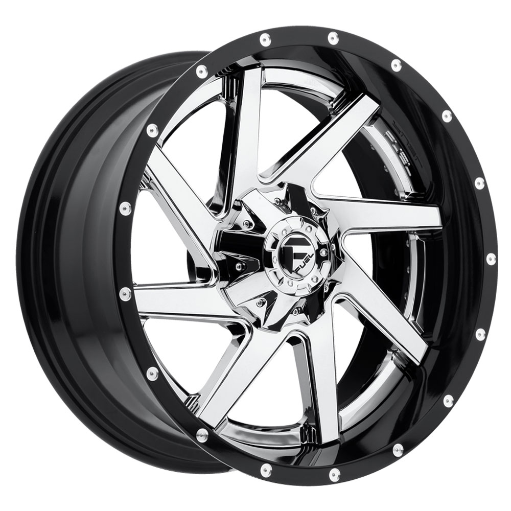 Renegade D263 - Chrome Center, Gloss Black Outer