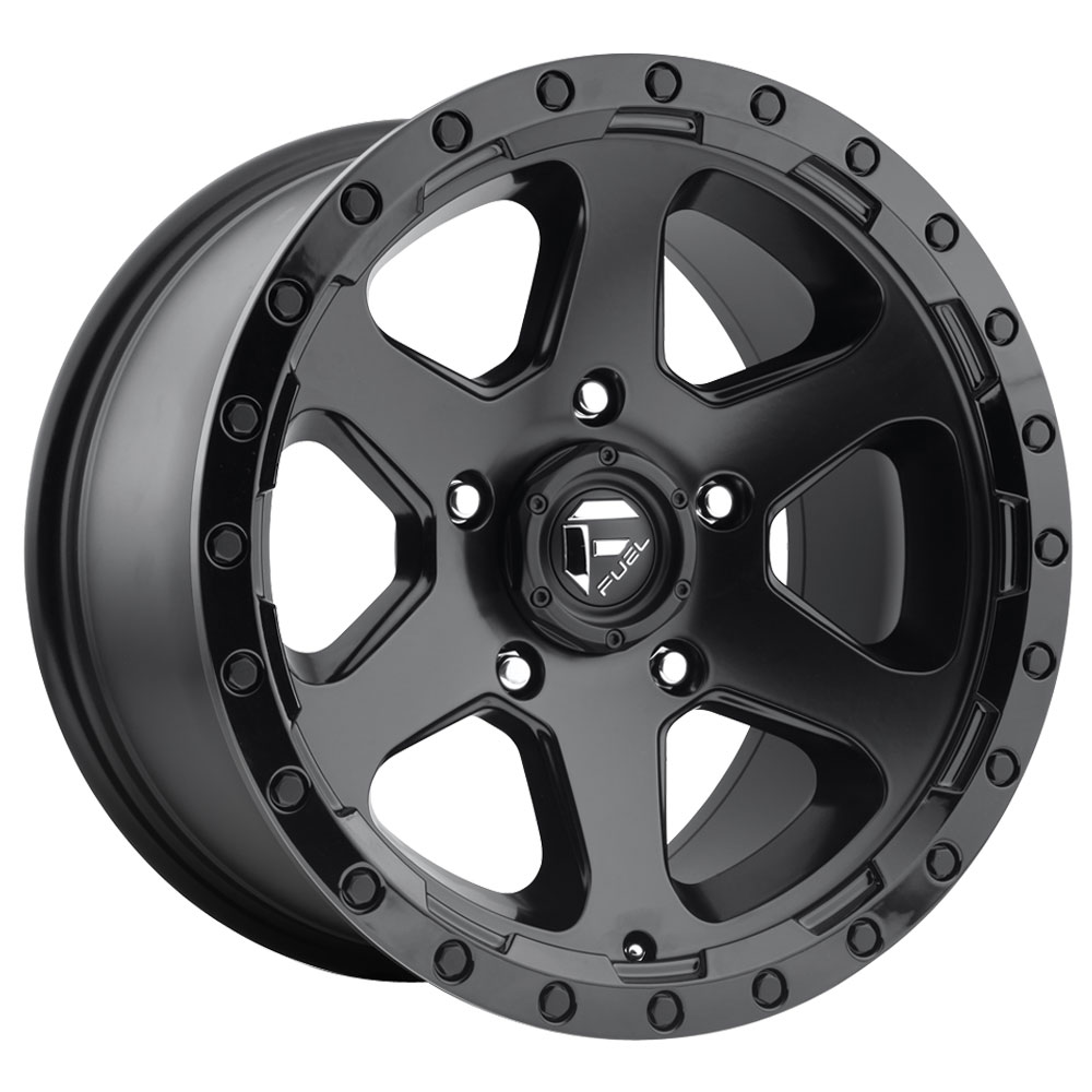 Ripper D589 - Matte Black with Gloss Black Lip