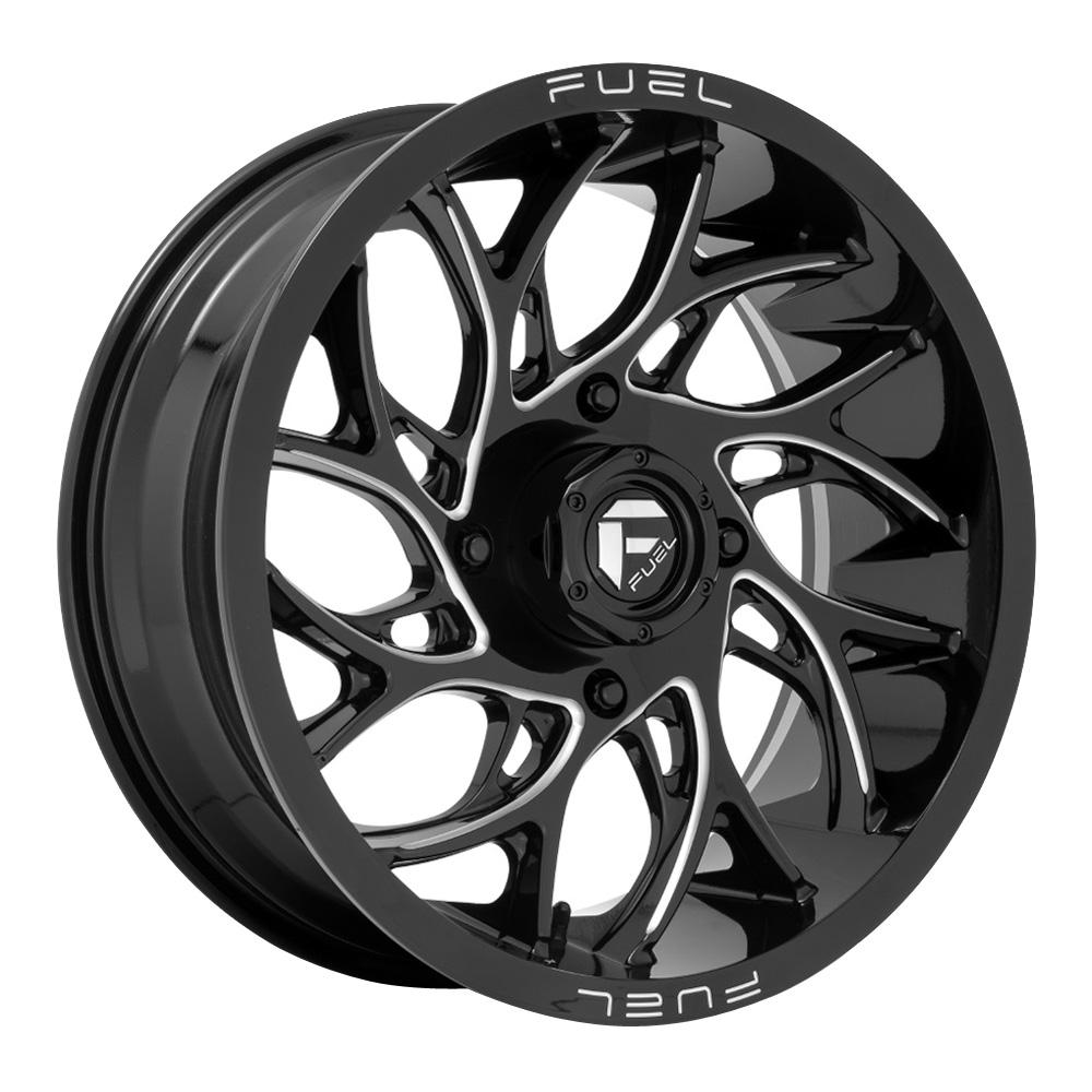 Fuel UTV Wheels D741 Runner UTV - Gloss Black Milled Rim
