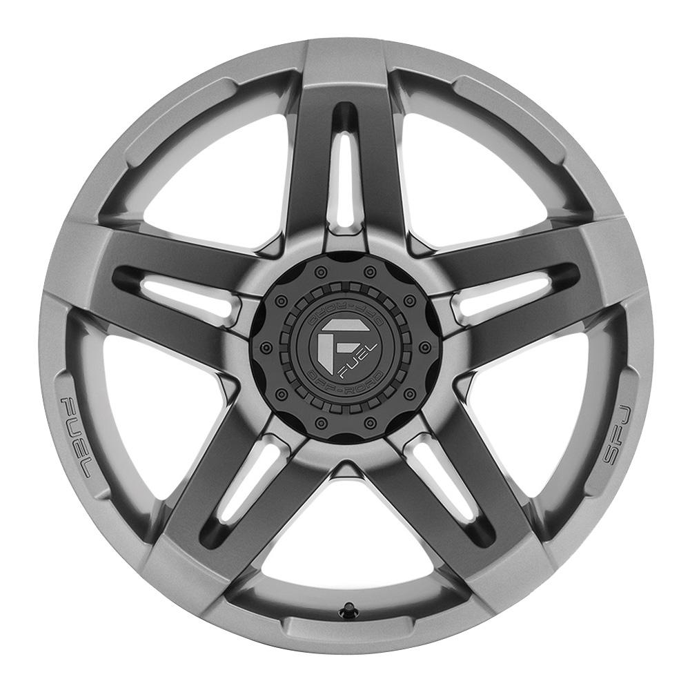 Fuel Wheels SFJ D764 - Matte Gunmetal Rim