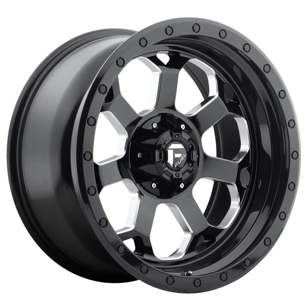 Fuel Wheels Savage D563 - Gloss Black / Milled