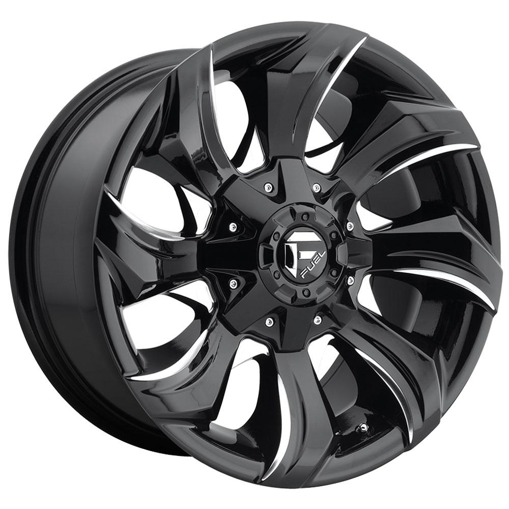 Fuel Wheels Stryker D571 - Gloss Black & Milled