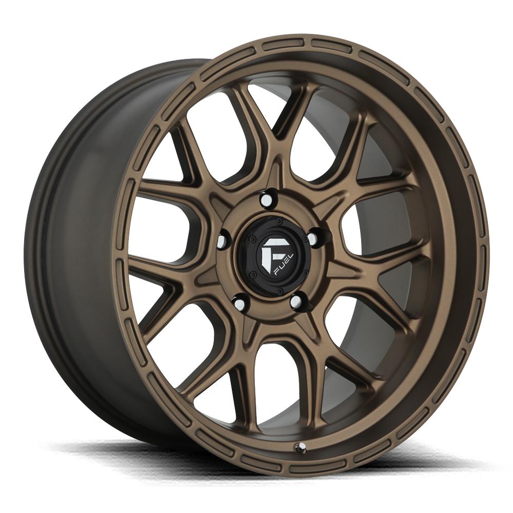 Fuel Wheels Tech D671 - Bronze
