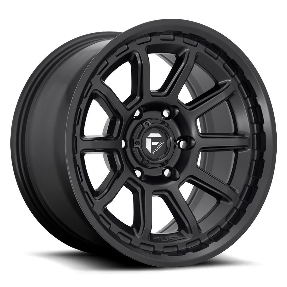 Fuel Wheels Torque D689 - Matte Black Rim