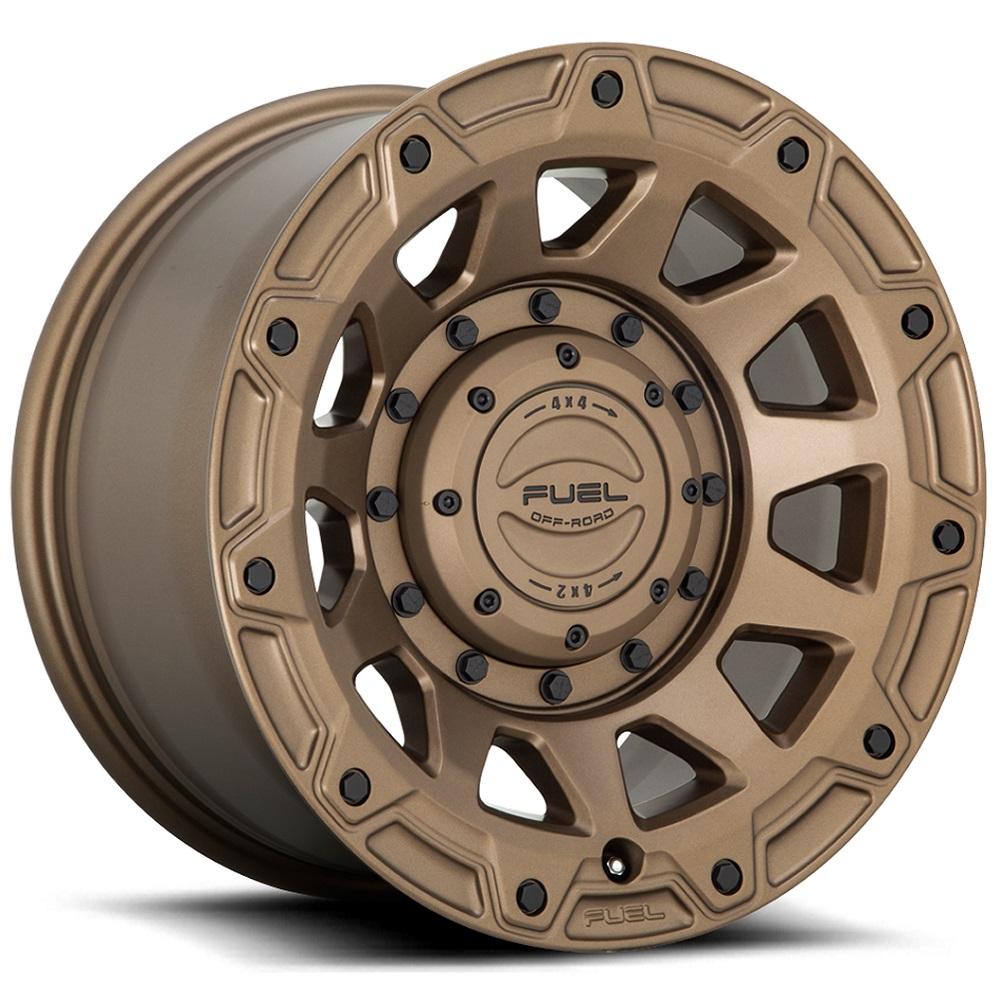 Fuel Wheels Tracker D731 - Matte Bronze Rim