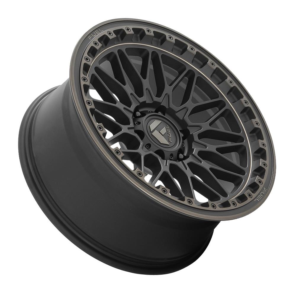 Fuel Wheels Trigger D759 - Matte Black Dark Tint Rim