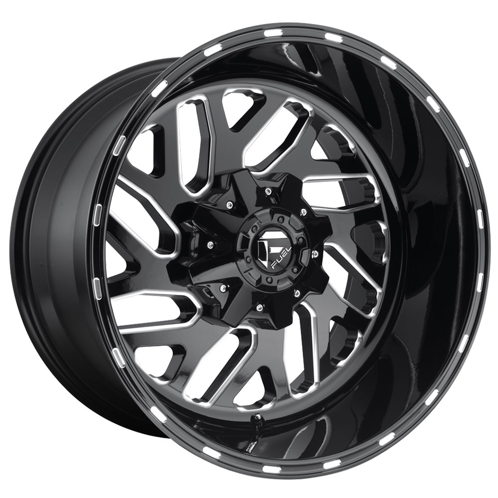 Fuel Wheels Triton D581 - Black & Milled