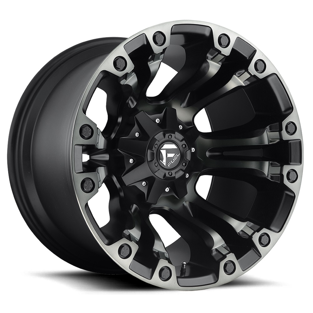 Fuel Wheels Vapor D569 - Black with Dark Tint