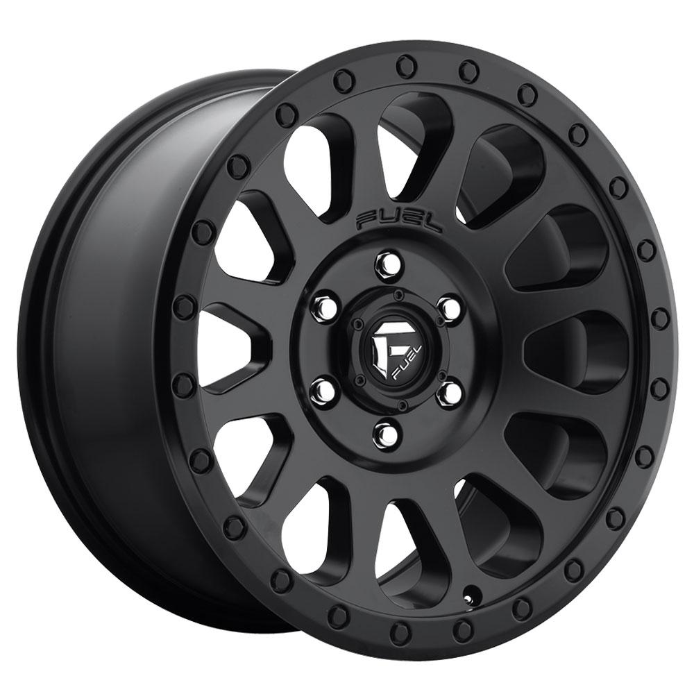 Fuel Wheels Vector D579 - Matte Black
