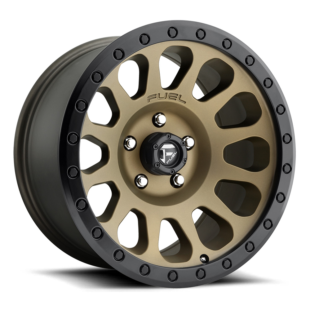 Fuel Wheels Vector D600 - Bronze Rim