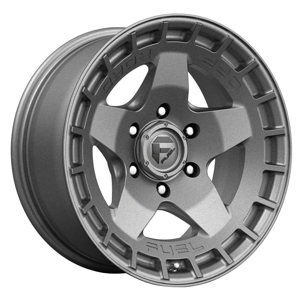 Fuel Wheels Warp D734 - Matte Gunmetal Rim