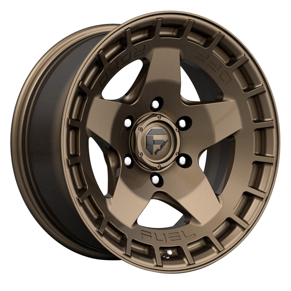 Fuel Wheels Warp D735 - Matte Bronze Rim