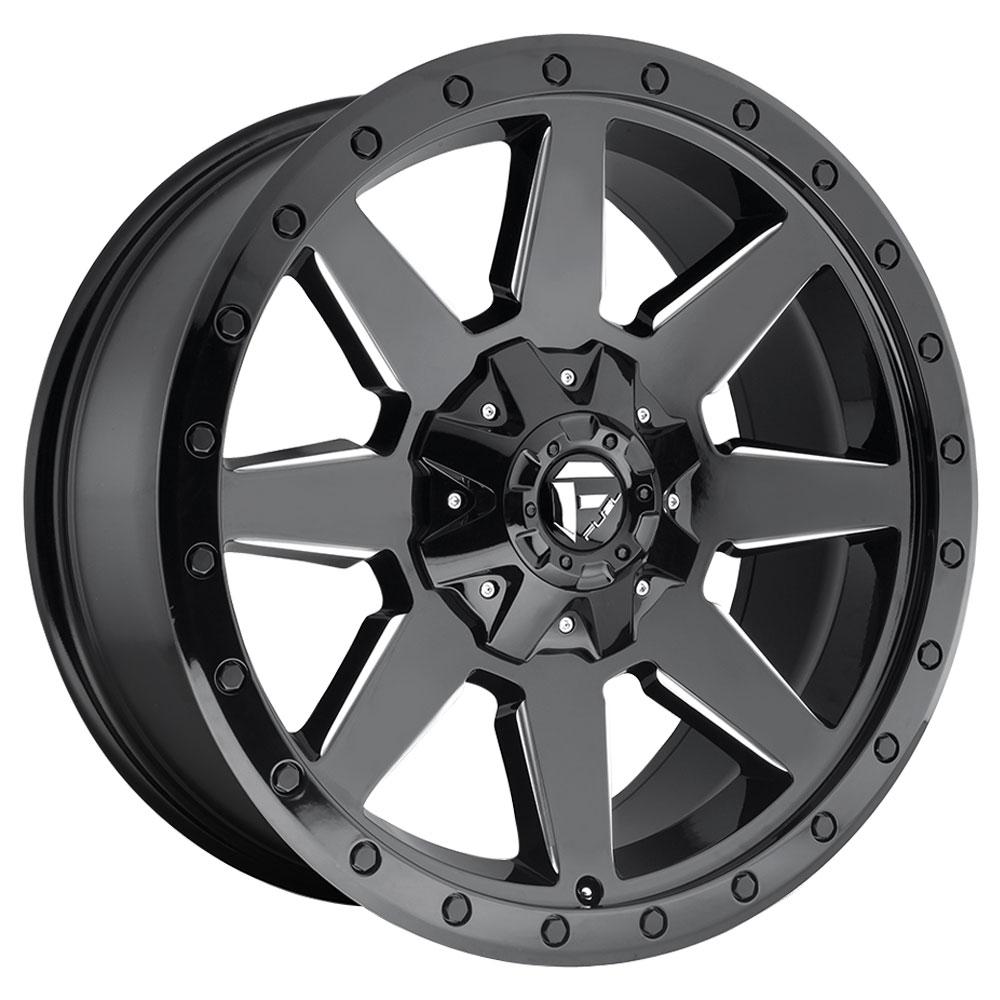 Wildcat D597 - Gloss Black & Milled
