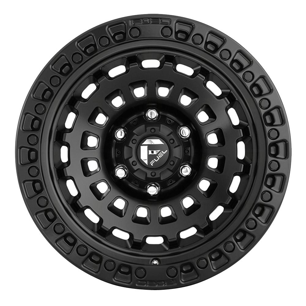 Fuel Wheels Zephyr D633 - Matte Black Rim