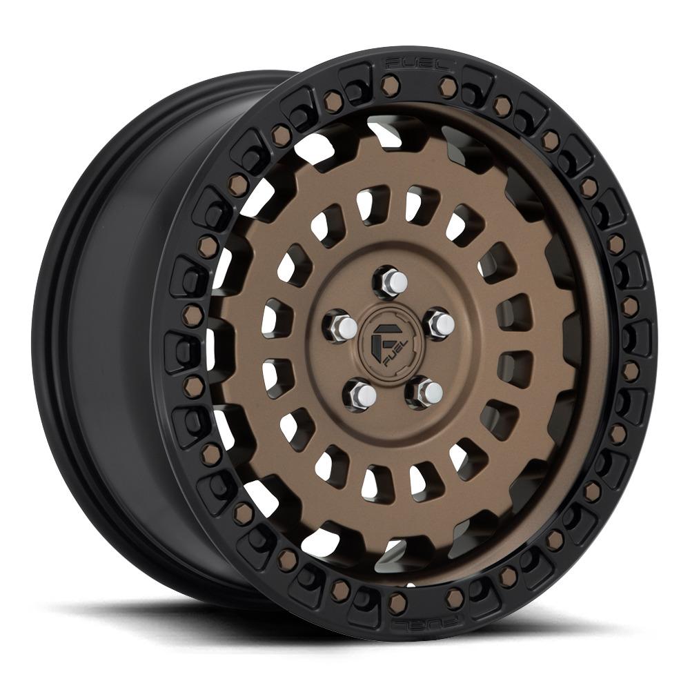 Fuel Wheels Zephyr D634 - Matte Bronze / Black