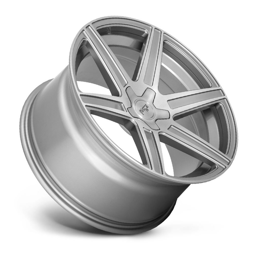 Niche Wheels Carina M241 - Anthracite Brushed Tinted Clear Rim