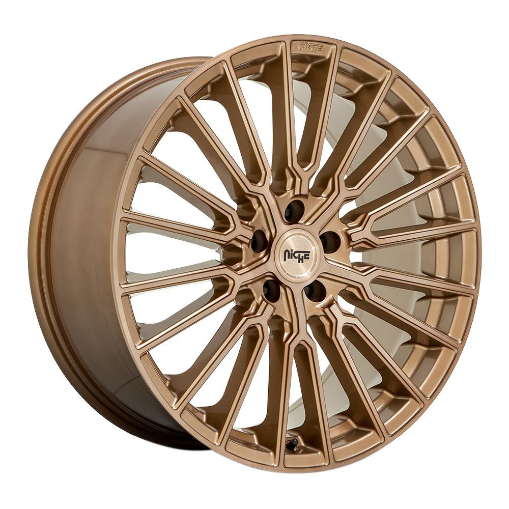 Niche Wheels Premio M264 - Bronze Brushed Rim