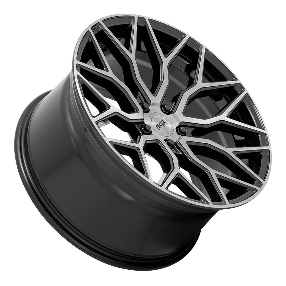 Niche Wheels Mazzanti M262 - Gloss Black with Brushed Face Rim