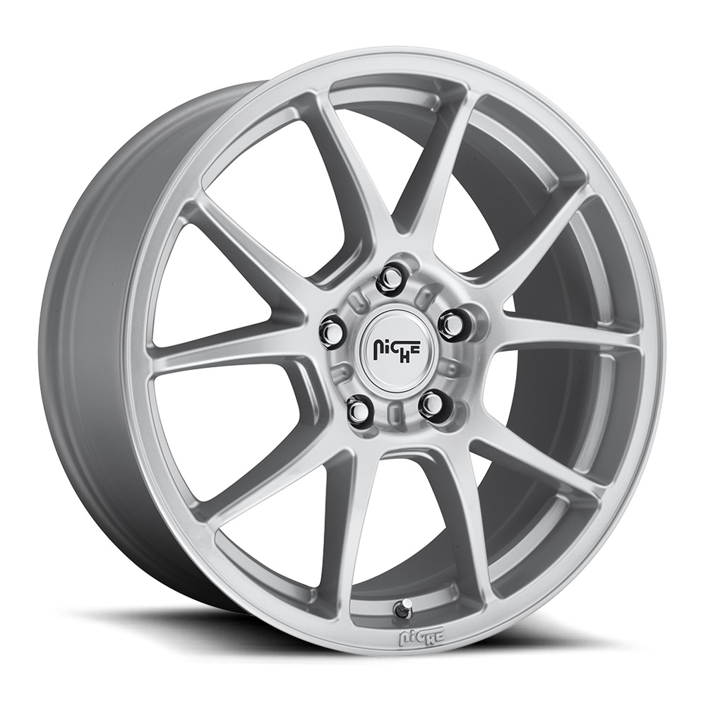 Niche Wheels Messina M175 - Silver Rim