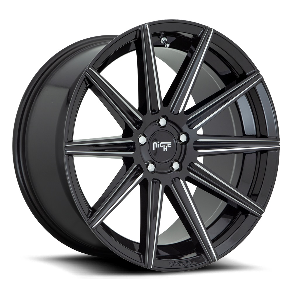 Niche Wheels Tifosi M243 - Gloss Black Milled Rim