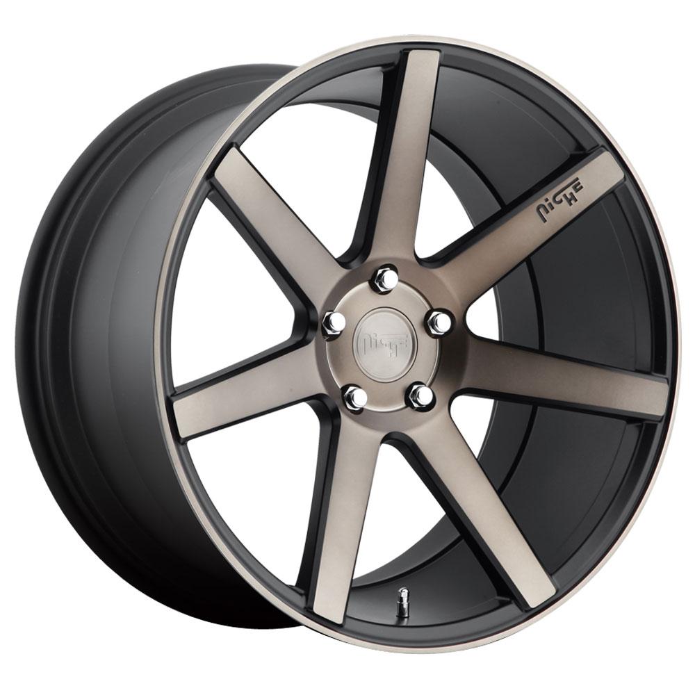 Niche Wheels Verona M150 - Black & Machined w/Dark Tint Rim