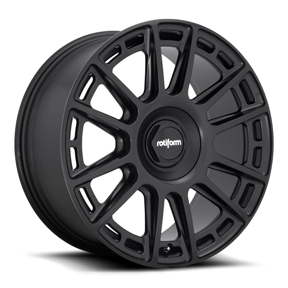 Rotiform Wheels R159 Ozr - Matte Black Rim