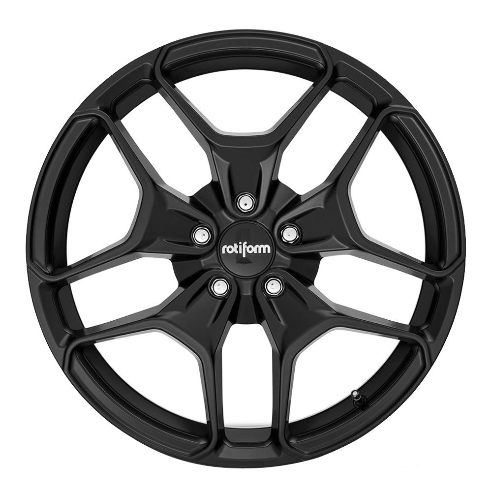 Rotiform Wheels R171 Hur - Matte Black Rim