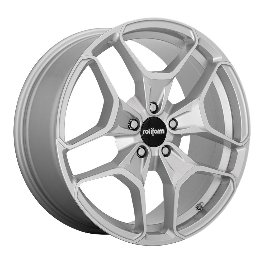 Rotiform Wheels R173 Hur - Machined Silver Rim