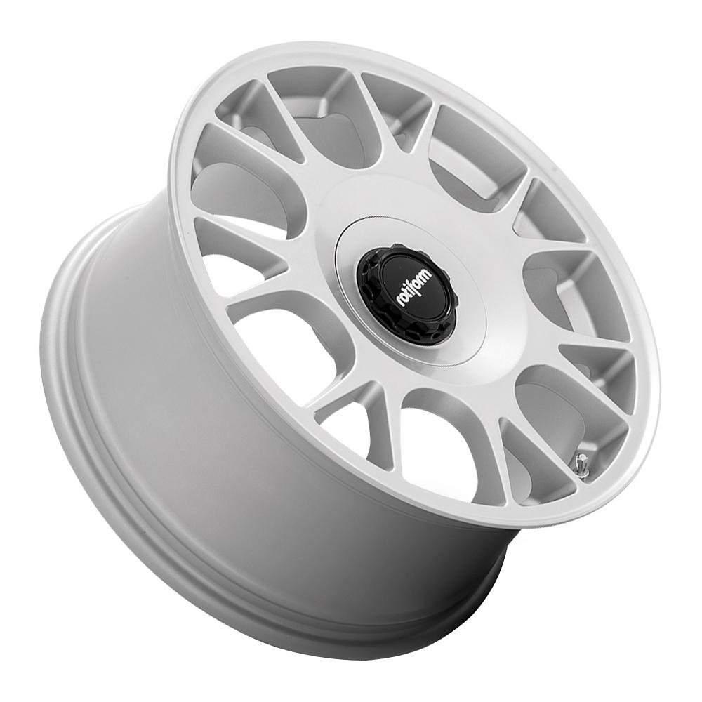 Rotiform Wheels TUF-R R188 - Satin Silver Rim