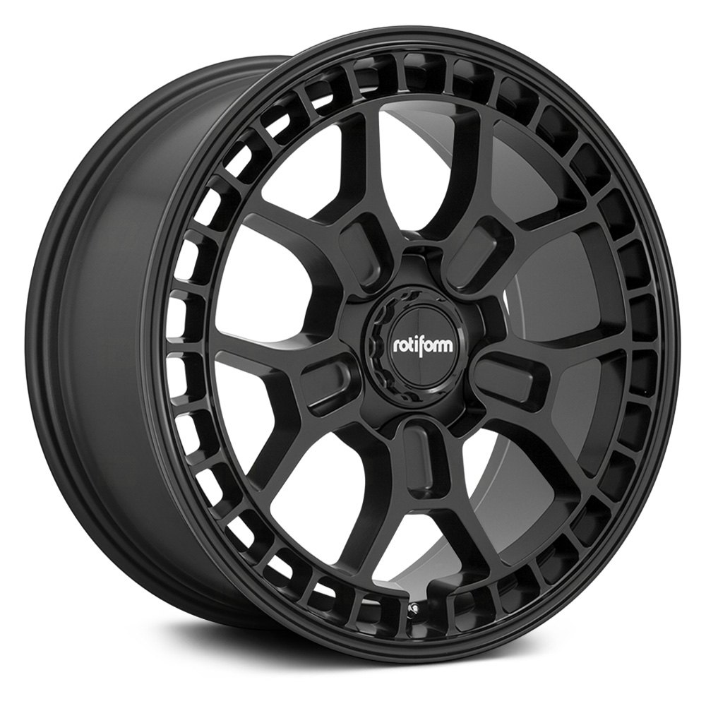 Rotiform Wheels ZMO-M R180 - Matte Black Rim