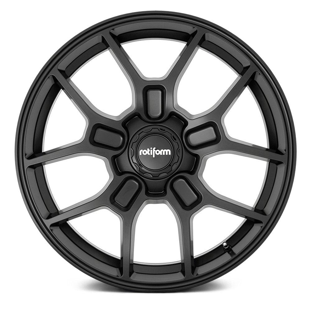 Rotiform Wheels ZMO R177 - Matte Black Rim