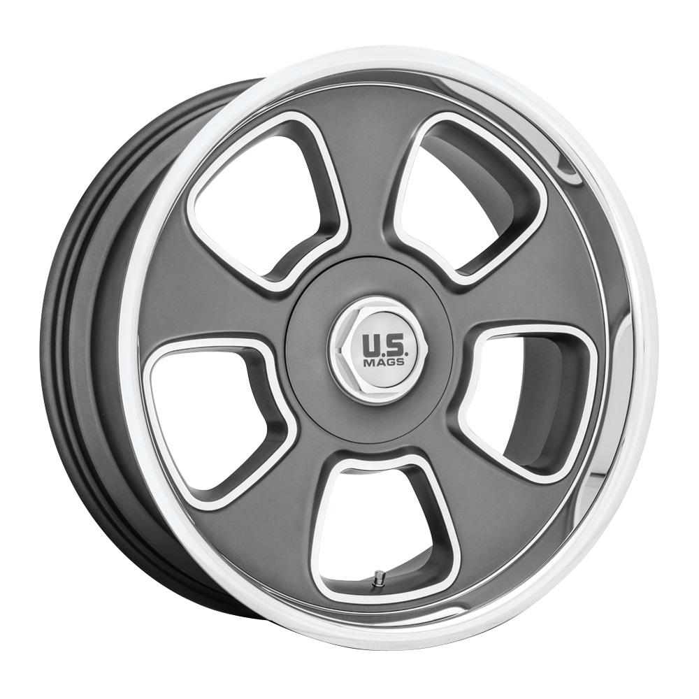 US Mag Wheels BLVD - U125 - Matte Gun Metal Rim