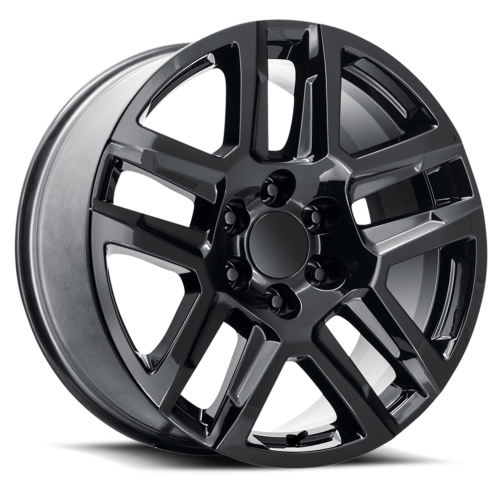 Topline Replica Wheels V1195 2020 Custom Rally - Gloss Black Rim