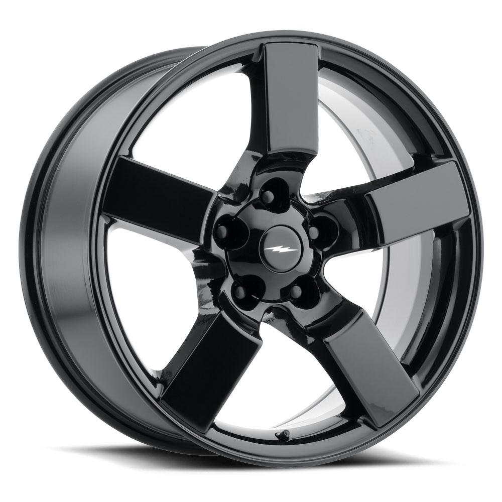 Replica by Voxx Wheels Lightning - Gloss Black Rim