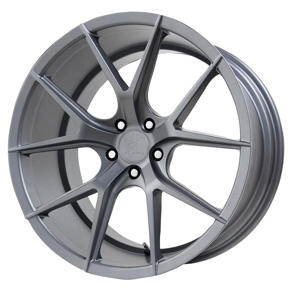 Verde Wheels V99 Axis - Matte Graphite