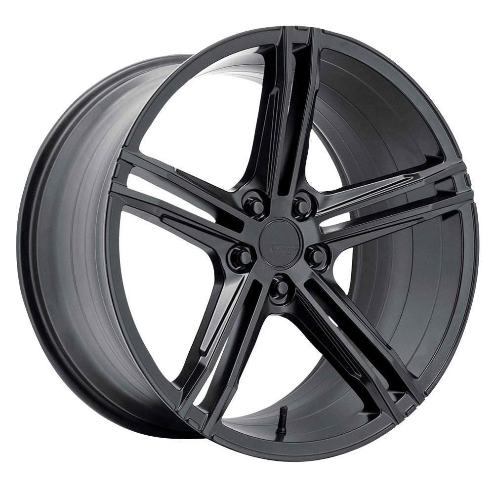 Verde Wheels VFF03 - Satin Black Rim - 21x9.5