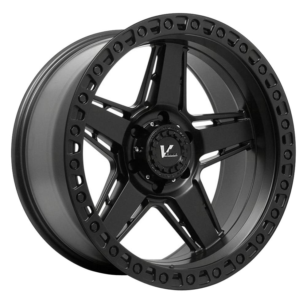 V-Rock Wheels VR16 Raid - Satin Black Rim