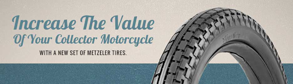 Metzeler Antique Tires