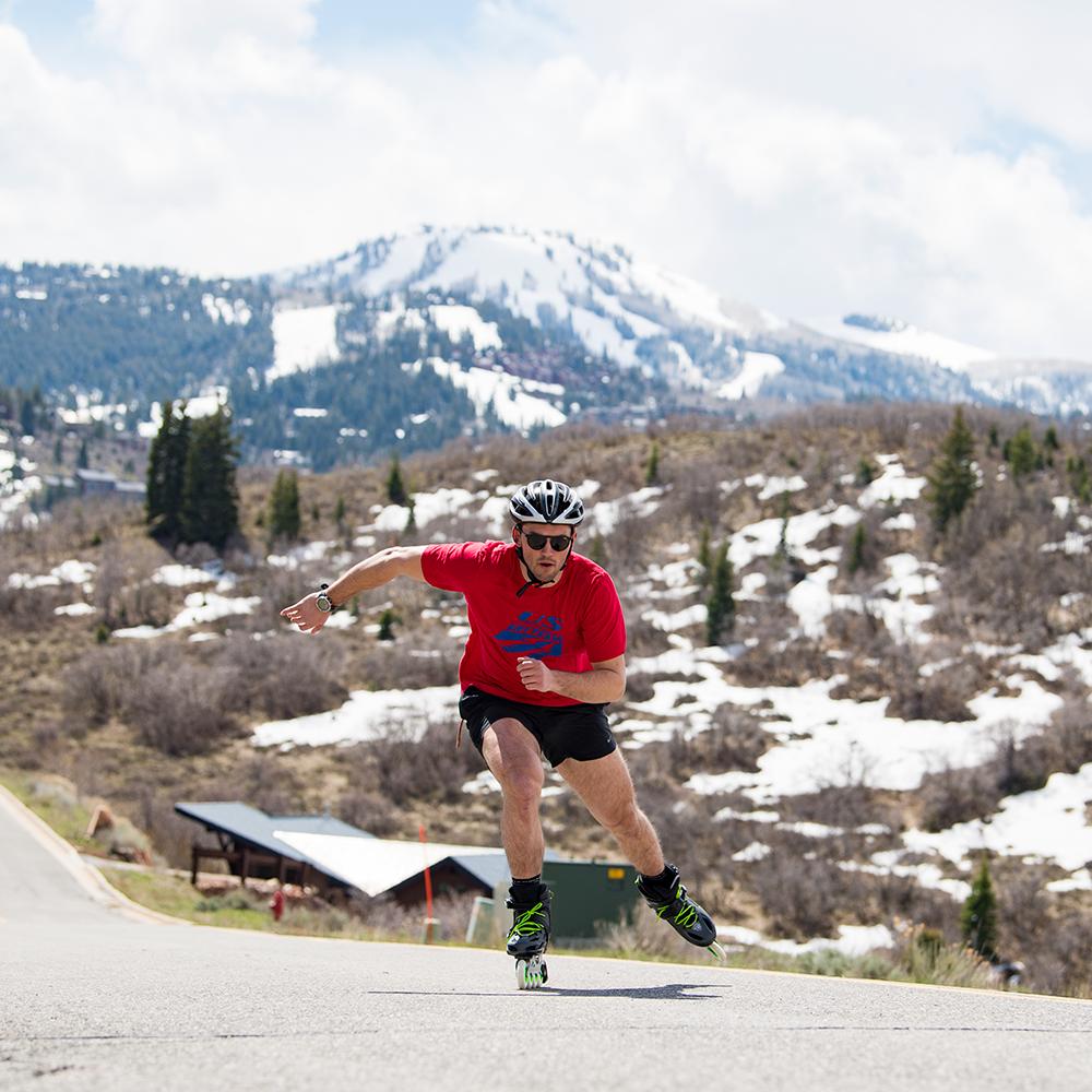 Rollerblade Skate to Ski Dryland Training - Skater