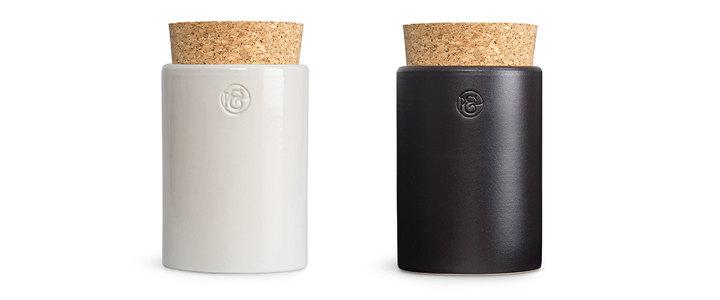 Keramikdose mit Korken - Pfeffersack & Soehne