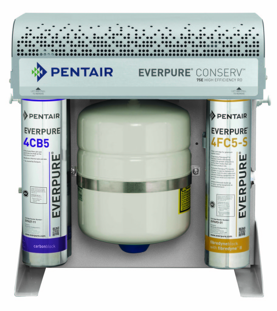 Pentair everpure debuts new conserv ro 75e at nama booth for Pentair everpure