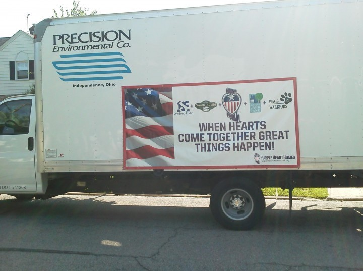 Community Rallies Troops To Support Local Precision