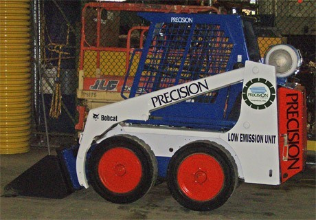 Propane Powered Skid Steer Loader Precision Procut