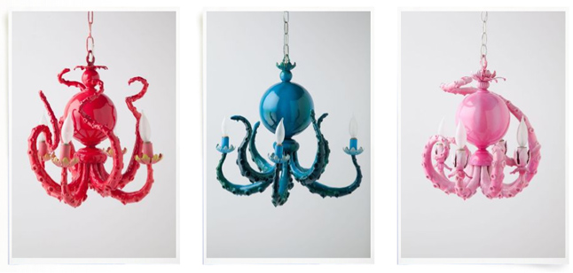 Anthropologie Octopus Chandelier For Your Home Under The Sea